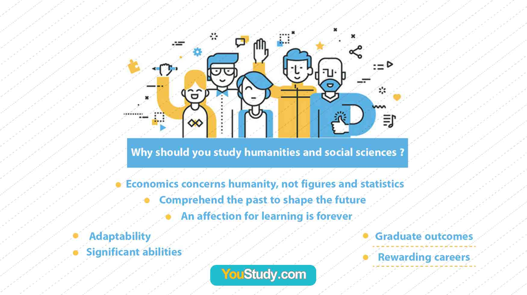 Why should you study humanities and social sciences